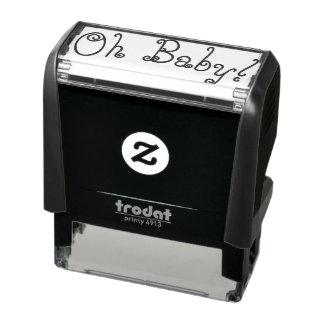 Oh Babygummi-Briefmarke Permastempel