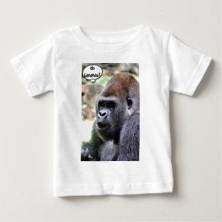 Oh Bananen! Menschenaffe Baby T-shirt