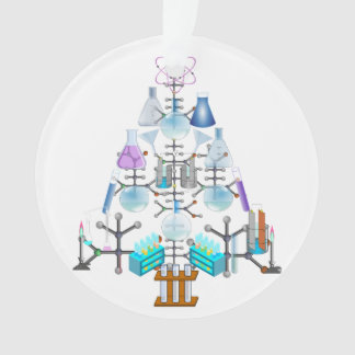 Oh Chemie, oh Chemiker-Baum Ornament