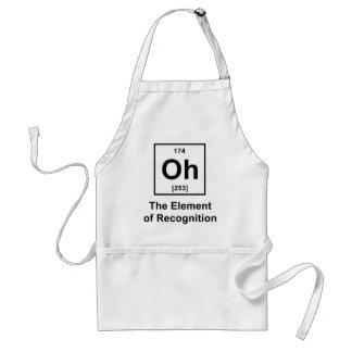 Oh! Das Element der Anerkennung Schürze