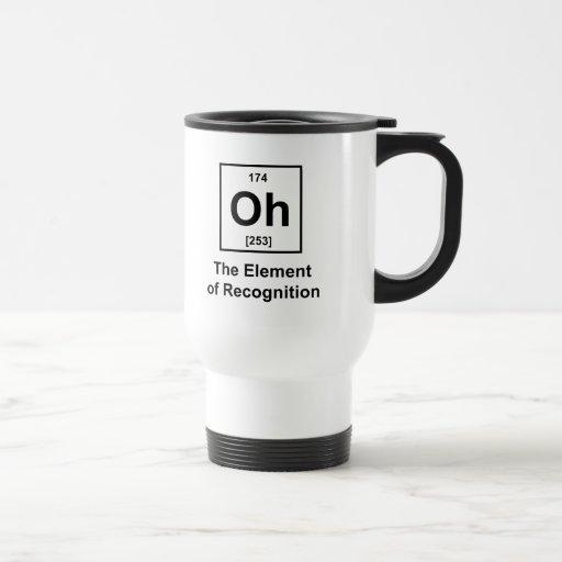 Oh! Das Element der Anerkennung Kaffeehaferl