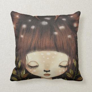 Oh Deer Throw Pillow Zierkissen
