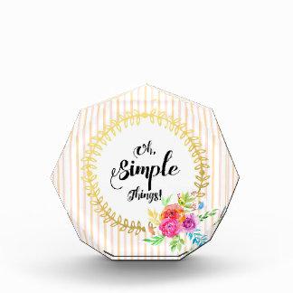 Oh, Simple Things!