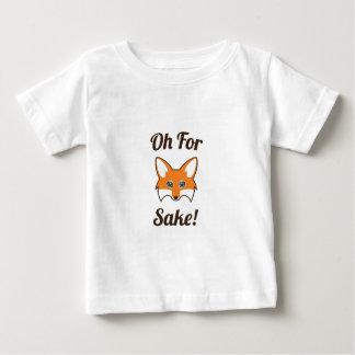 Oh für Fox-Grund Baby T-shirt