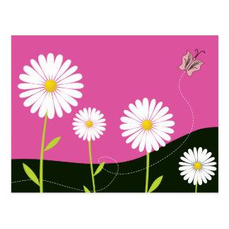 Oh Gänseblümchen! Postkarte