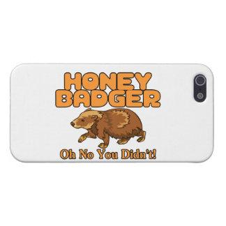 Oh kein Honig-Dachs Hülle Fürs iPhone 5