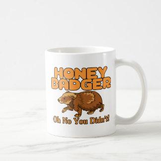 Oh kein Honig-Dachs Kaffeetasse