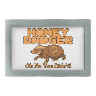 Oh kein Honig-Dachs Rechteckige Gürtelschnallen