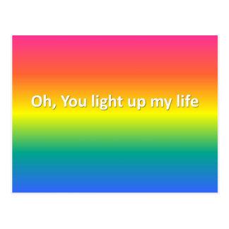 oh leuchten Sie meinem Leben Postkarten