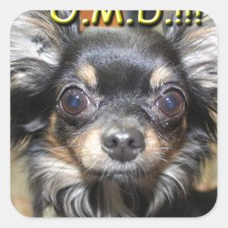 Oh mein Hund Aufkleber