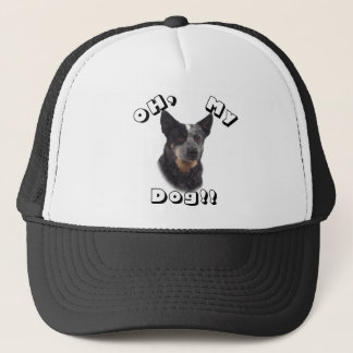 Oh, mein Hund!! Australischer Vieh-Hund - Blau Truckerkappe