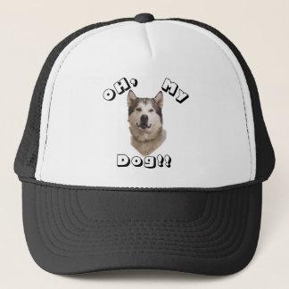Oh mein Hundealaskischer Malamute Truckerkappe