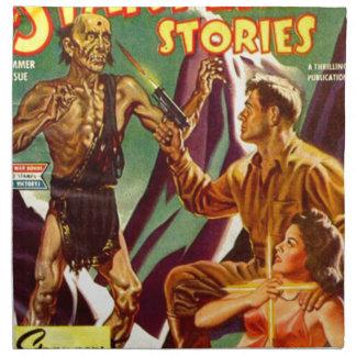 Oh, nein!  Ein Zombie! Serviette