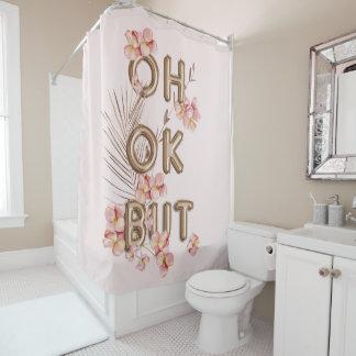 OH-O.K. ABER Girly Trendy RoseGold Duschvorhang