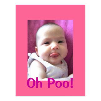 , Oh Poo! Postkarte