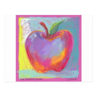 Oh prachtvolle Apple Postkarte