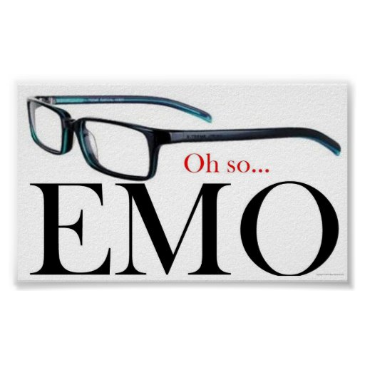 Oh so Emo Poster