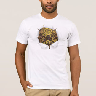 oh so extravagant ....... auf dem Innere T-Shirt