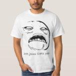 Oh süßer Jesus, der gutes Raserei-Gesicht Meme ist T Shirts