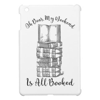 Oh, wird mein Wochenende gebucht iPad Mini Cover