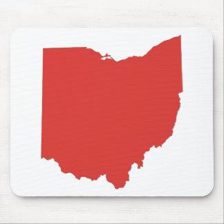 Ohio - ein ROTER Staat Mauspads