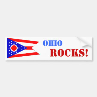 Ohio-FELSEN! Autoaufkleber