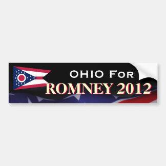 Ohio für Romney Autoaufkleber 2012