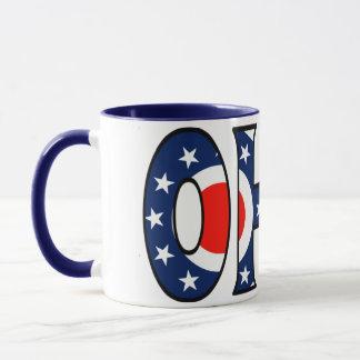 Ohio-Kaffeetasse Tasse