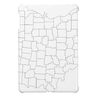 Ohio-Landkreise iPad Mini Hülle
