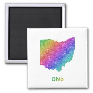 Ohio Quadratischer Magnet
