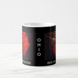 Ohio-Rot-Gartennelke Kaffeetasse