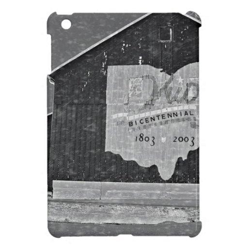 Ohio-Scheune im Winter Hülle Für iPad Mini