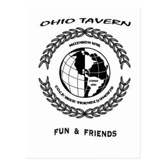 Ohio-Taverne Postkarte