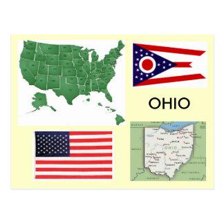 Ohio, USA Postkarte