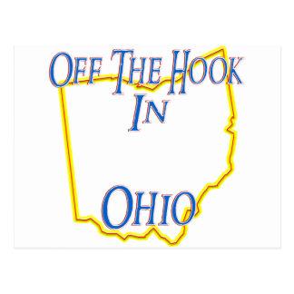 Ohio - weg vom Haken Postkarte