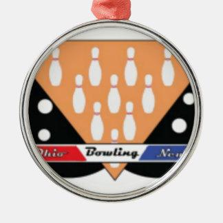 OhioBowlingNewscom Silbernes Ornament