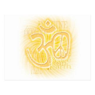 Ohm-Frieden Postkarte