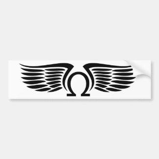 Ohm On Wings Autoaufkleber