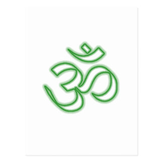 Ohm-Symbol Postkarte