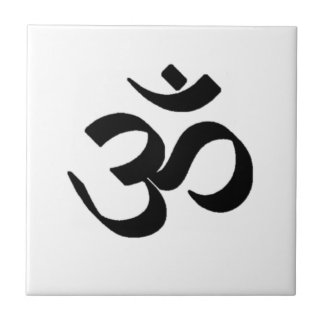 Ohm Symbol Tile