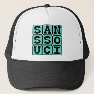 Ohne Souci keine Sorge-Latein-Phrase Truckerkappe