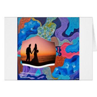 Ohr-Hochzeit Karte
