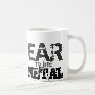 Ohr zur MetallTasse Kaffeetasse