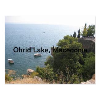 Ohrid See, Mazedonien Postkarte