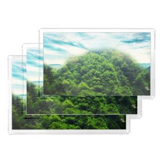 Ohrschnecke-See Acryl Tablett
