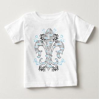 oilfield_baby_boy baby t-shirt
