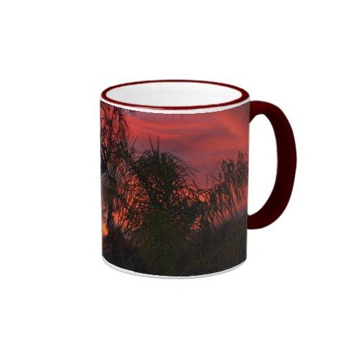 Ojai Sonnenuntergang Kaffee Tasse