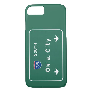 OkayAutobahn-Autobahn Oklahoma City: iPhone 8/7 Hülle
