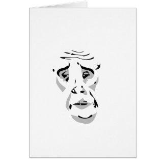 okaynetz-Comic-Gesicht meme Grußkarte