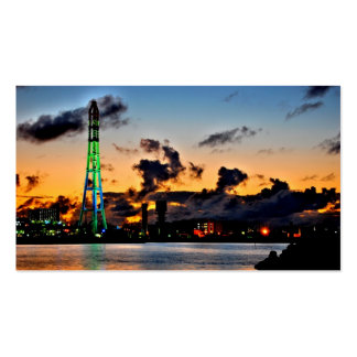 Okinawa-Sonnenuntergang Visitenkarten